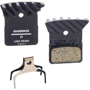 Shimano BR-R9170 LO3A Resin Brake Pads w/Fins and Spring