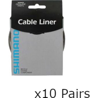 Shimano Workshop Brake and Shift Cable Liner Grey (10 Pack)