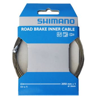 Shimano 1.6mmx2050mm Stainless Road Brake Cable