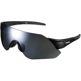 Shimano CE-ARLT1 Aerolite Sunglasses Matte Black (Smoke Silver Mirror)