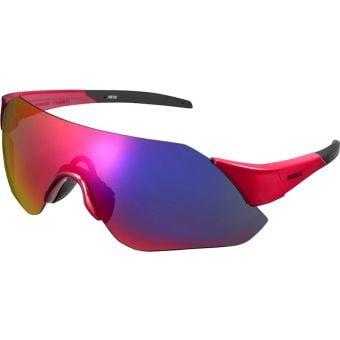 Shimano CE-ARLT1 Aerolite Sunglasses Red (Smoke Red MLC Lens)