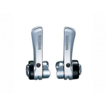 Shimano Claris SL-R400 3x8 Speed Downtube Shift Lever Set Silver