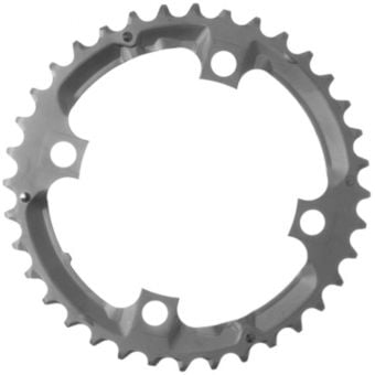Shimano Deore FC-M532 9Sp 104mm BCD 4 Arm Chainring 36T Silver
