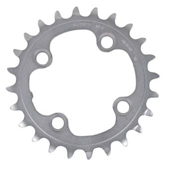 Shimano Deore XT FC-M785 24t AM 10sp Chainring Silver