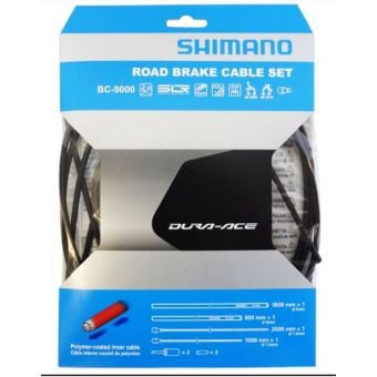 Shimano Dura-Ace BC-9000 Polymer Coated Road Brake Cable Set Black