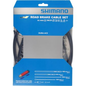 Shimano Workshop Dura-Ace BC-9000 Polymer Coated Road Brake Cable Set High Tech Grey