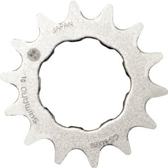 Shimano DXR 15T CS-MX66 Single BMX Sprocket Silver