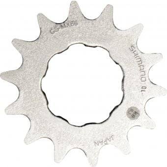 Shimano DXR 18T CS-MX66 Single BMX Sprocket Silver