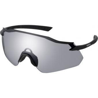 Shimano Equinox Sunglasses Matte Black w/ Photochromic Grey Lens