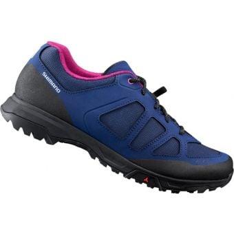 Shimano ET300 Womens Flat Pedal Touring Shoes Purple