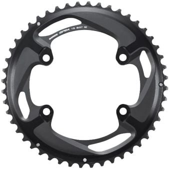 Shimano GRX FC-RX810-2 48T ND Outer Chainring Black
