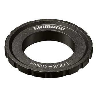 Shimano Deore HB-M618 External Serration Rotor Lock Ring & Washer
