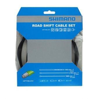 Shimano Optislick OT-SP41 2100/1800mm Road Shift Cable Set Black