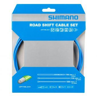 Shimano Optislick OT-SP41 Road Shift Cable Set Blue