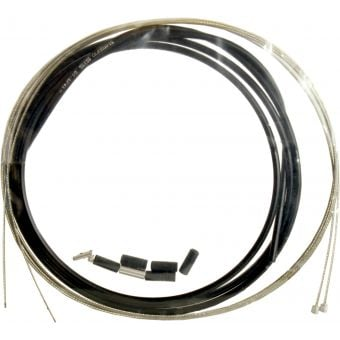 Shimano OT-SP417800 Stainless Steel Shift Cable Set Black w/sealed Caps