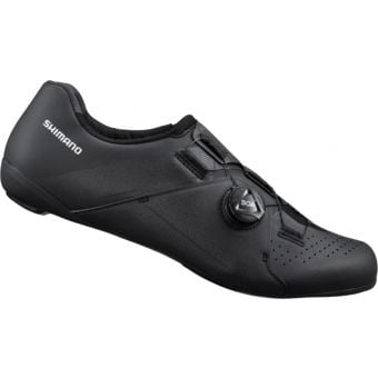 Shimano RC300 E-Width Road Shoes Black Wide Fit