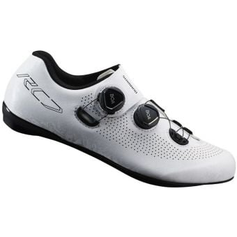 Shimano RC701-E Width Road Shoes White Wide Fit