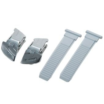 Shimano Replacement Buckle and Strap Set White Universal Large