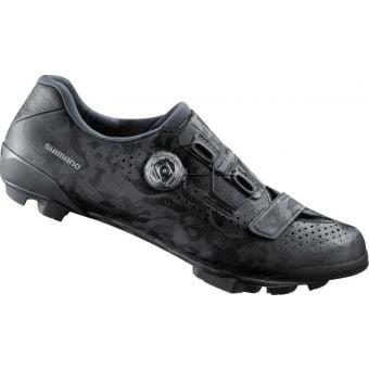 Shimano RX800 SPD Gravel Racing Shoes Wide Fit Black
