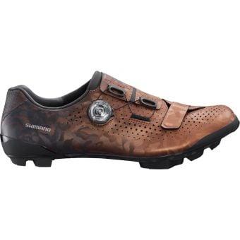 Shimano RX800 SPD Gravel Racing Shoes Bronze Wide Fit