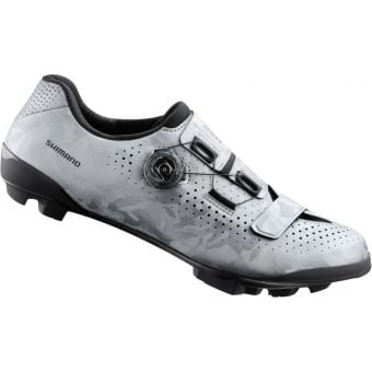 Shimano RX800 SPD Gravel Racing Shoes Silver