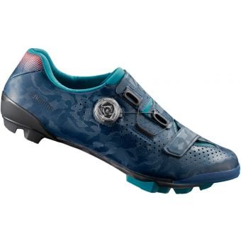 Shimano RX800 Womens SPD Gravel Racing Shoes Navy Size 36