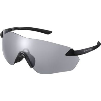 Shimano S-Phyre R Photochromic Sunglasses Black (D-Grey Lens)
