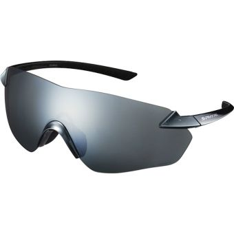 Shimano S-Phyre R Polarised Sunglasses Mirror Silver (Optimal PL Silver Multi Layer Lens)