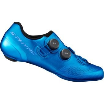 Shimano S-Phyre RC902 Road Shoes Blue Wide Fit