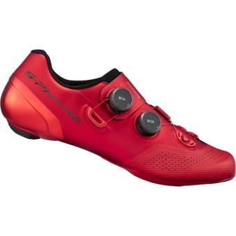 Shimano S-Phyre RC902 Road Shoes Red Wide Fit
