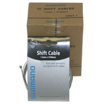Shimano 1.2mm Shift Cables (Pack of 10)