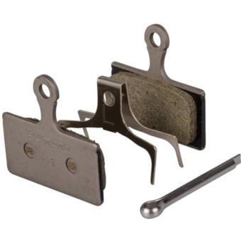 Shimano Deore XT/SLX/Alfine G03S Resin Disc Brake Replacement Pads and Spring