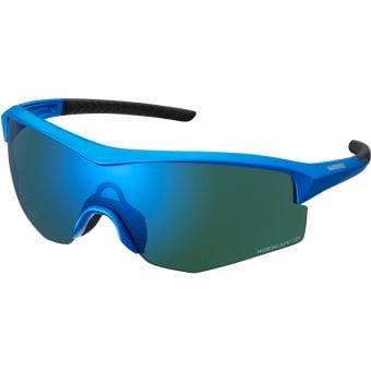 Shimano Spark Sunglasses Candy Blue w/ Blue Ridescape Gravel Lens