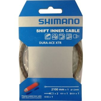 Shimano ST-9000 Polymer-coated 1.2mm X 2100mm Shift Cable