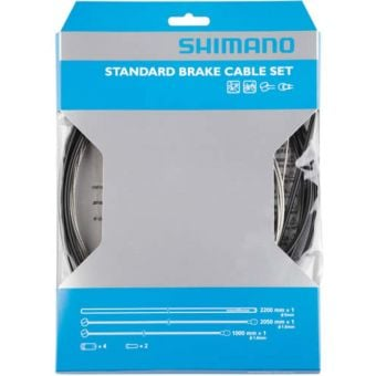 Shimano Standard Steel MTB Brake Cable Set Black
