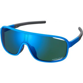 Shimano Technium Sunglasses Blue w/ Blue Ridescape Gravel Lens