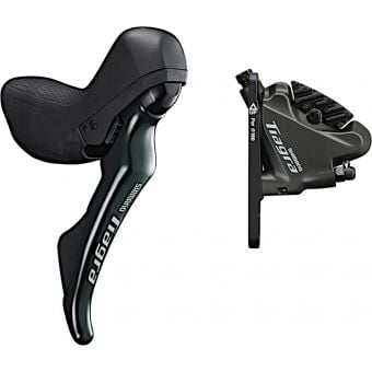 Shimano TIAGRA ST-R4720 Right Shifter Front Brake Lever with BR-4770 Front Disc Brake