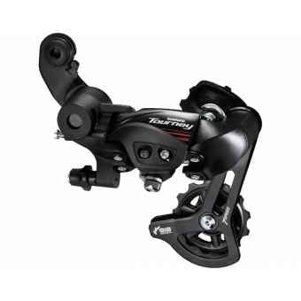 Shimano Tourney RD-A070 7 Speed Direct Mount Rear Derailleur Black