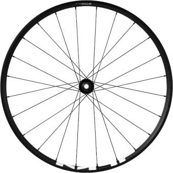 "Shimano WH-MT500 27.5"" 15x110mm E-ThruAxle Centrelock Front MTB Wheel Black"