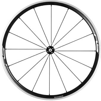 Shimano WH−RS330 Alloy Clincher Front Wheel Black
