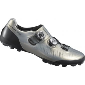 Shimano RC901-E S-Phyre E-Width Road Shoes Silver Wide Fit