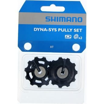 Shimano XT M780 Dyna-Sys Rear Derailleur Tension and Guide Pulley Set