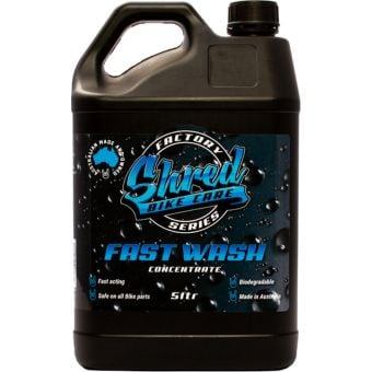 Shred Fast Wash Factory Series 5L Concentrated Biodegradable Bike Wash