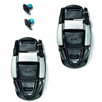 Sidi Replacement Caliper Buckle Set Black/Grey