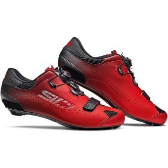 SIDI Sixty Carbon Road Shoes Red