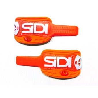 Sidi Soft Instep 3 Replacement Strap Set (Pair) Orange/White