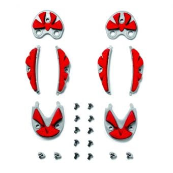 Sidi SRS MTB Carbon Ground Inserts Red Size 38/40