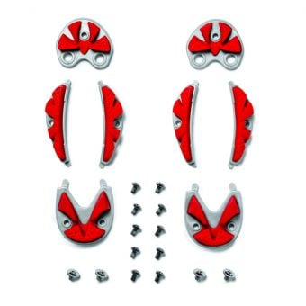Sidi SRS MTB Carbon Ground Inserts Red Size 41/44