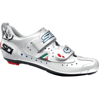 Sidi T-2 Carbon Composite Triathlon Shoes White Size 39