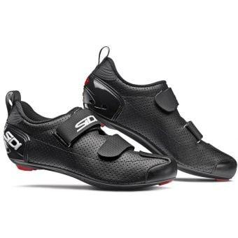 Sidi T-5 Air Carbon Composite Triathlon Shoes Black/Black